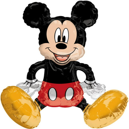 Sitting Mickey Mouse Multi - Balloon Inflate with Air 18