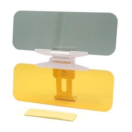 Car Foldable Anti-glare Sun Visor Mirror Reinforced Day and Night Vision Shield (Mirror Visor Shield)