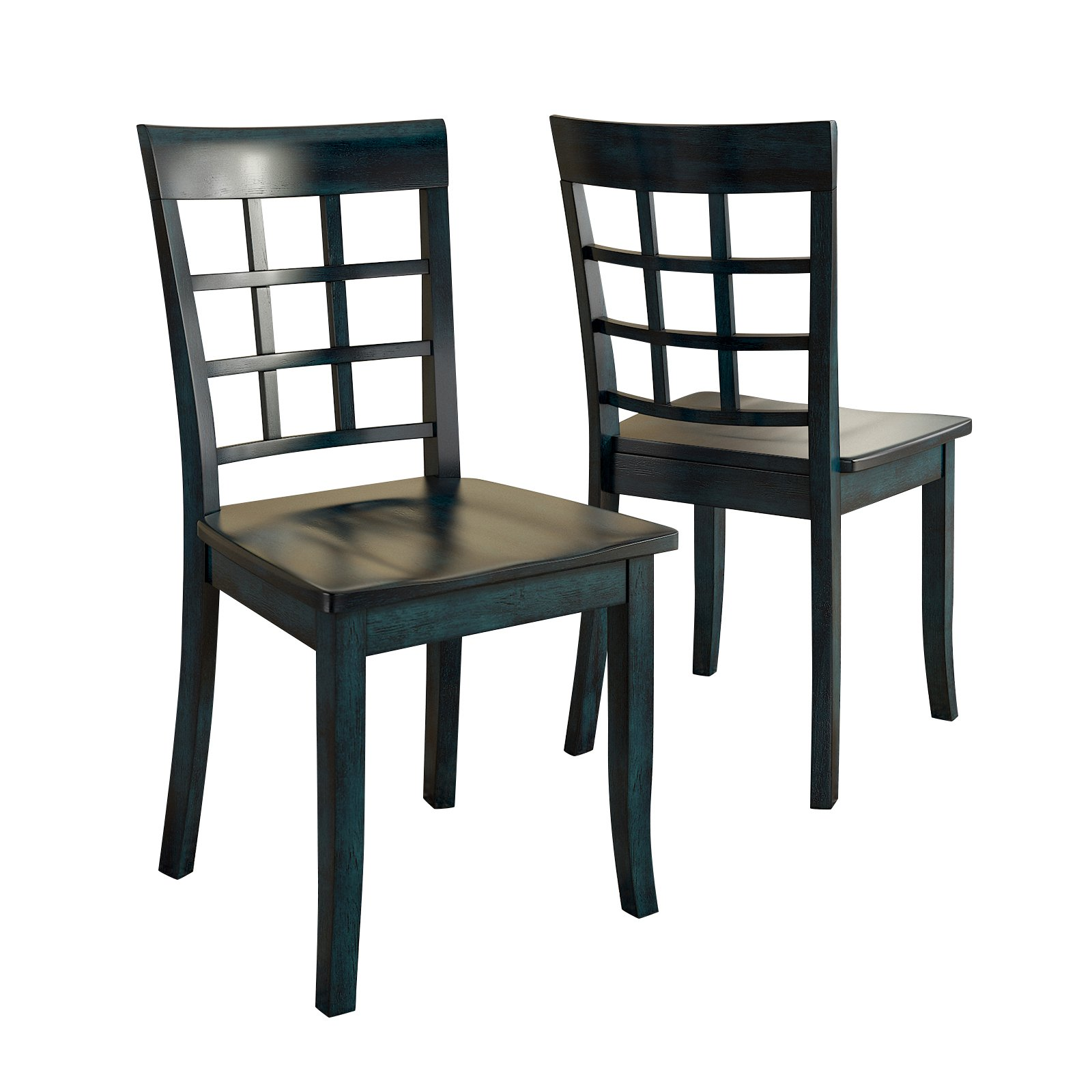 Lexington Window Back Dining Chair, Set of 2, Multiple Colors