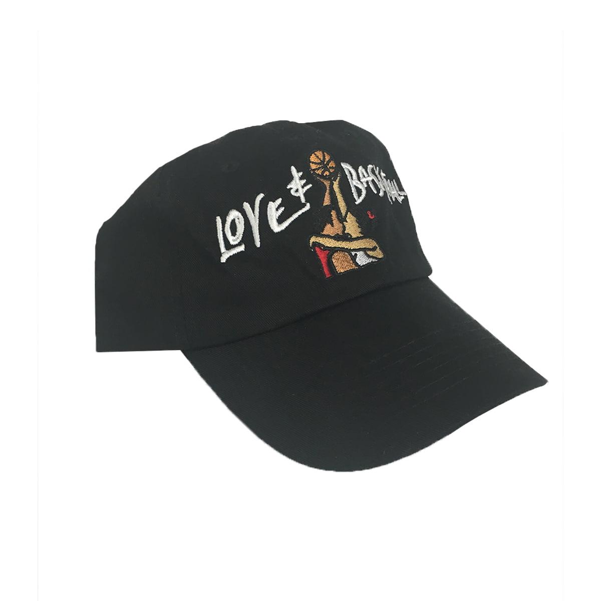 Love   Basketball Black Hat Baseball Cap Buckle Dad And Movie ... 786585387bc