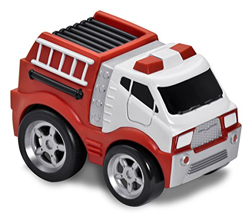 Kid Galaxy Soft and Squeezable Pull Back Fire Truck by Kid Galaxy