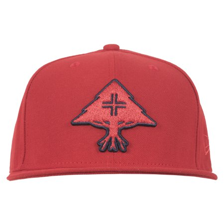 78875c7d8d3 Lrg - LRG New Era Huslte Trees Snapback Hat Lifted Research Group Mens Red  - Walmart.com
