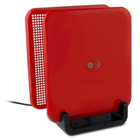 ClearStream Micron Indoor Multi-Directional Digital TV Antenna w/ Reflector, Red