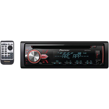 Pioneer Deh X2900ui Single Din In Dash Cd Receiver With Mixtrax  Usb  Pandora Internet Radio Ready And Android Music Support With Aoa 2 0