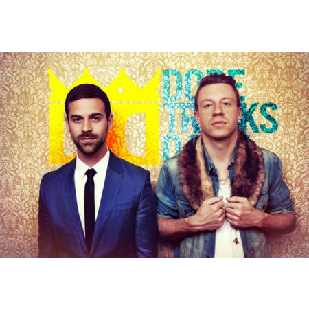 Macklemore And Ryan Lewis Poster 11X17 Mini Poster
