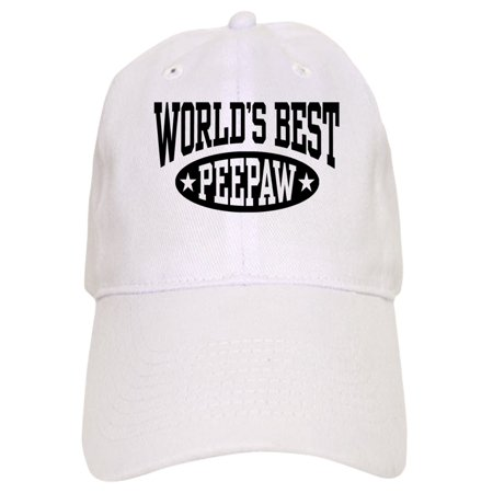 2d027becd CafePress - World's Best Peepaw - Printed Adjustable Baseball Cap