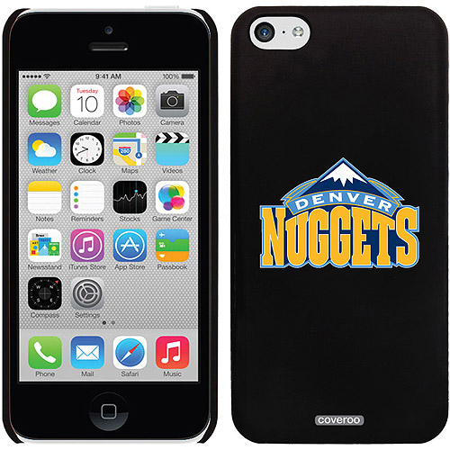 Denver Nuggets Design on iPhone 5c Thinshield Snap-On Case by Coveroo