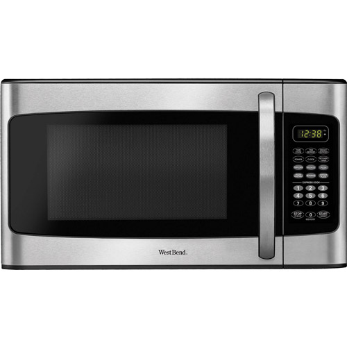 Westbend 1.1 cu ft Microwave, Stainless Steel
