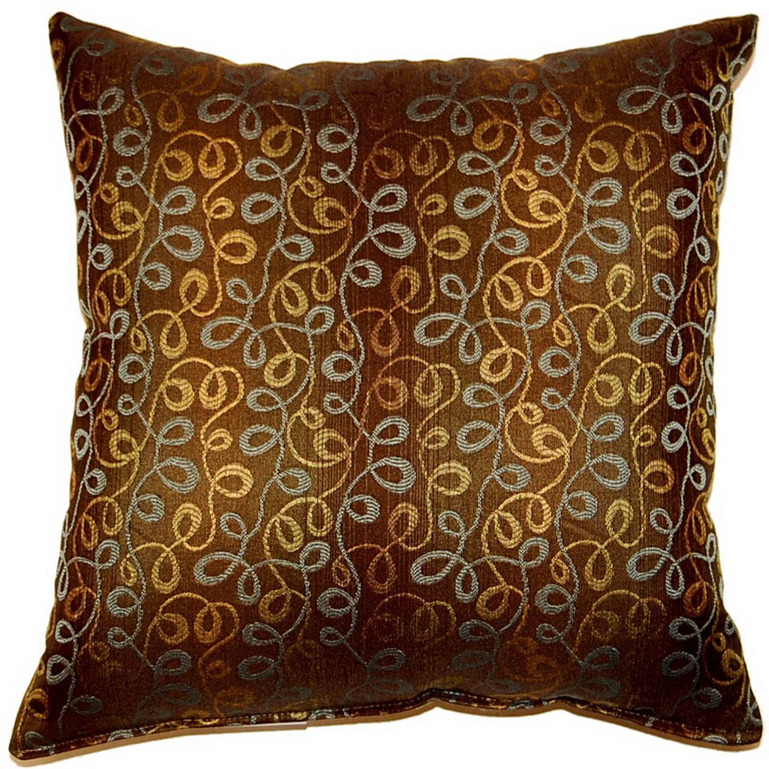 Fox Hill Trading Doodle Vermouth 17-inch Throw Pillows (Set of 2)