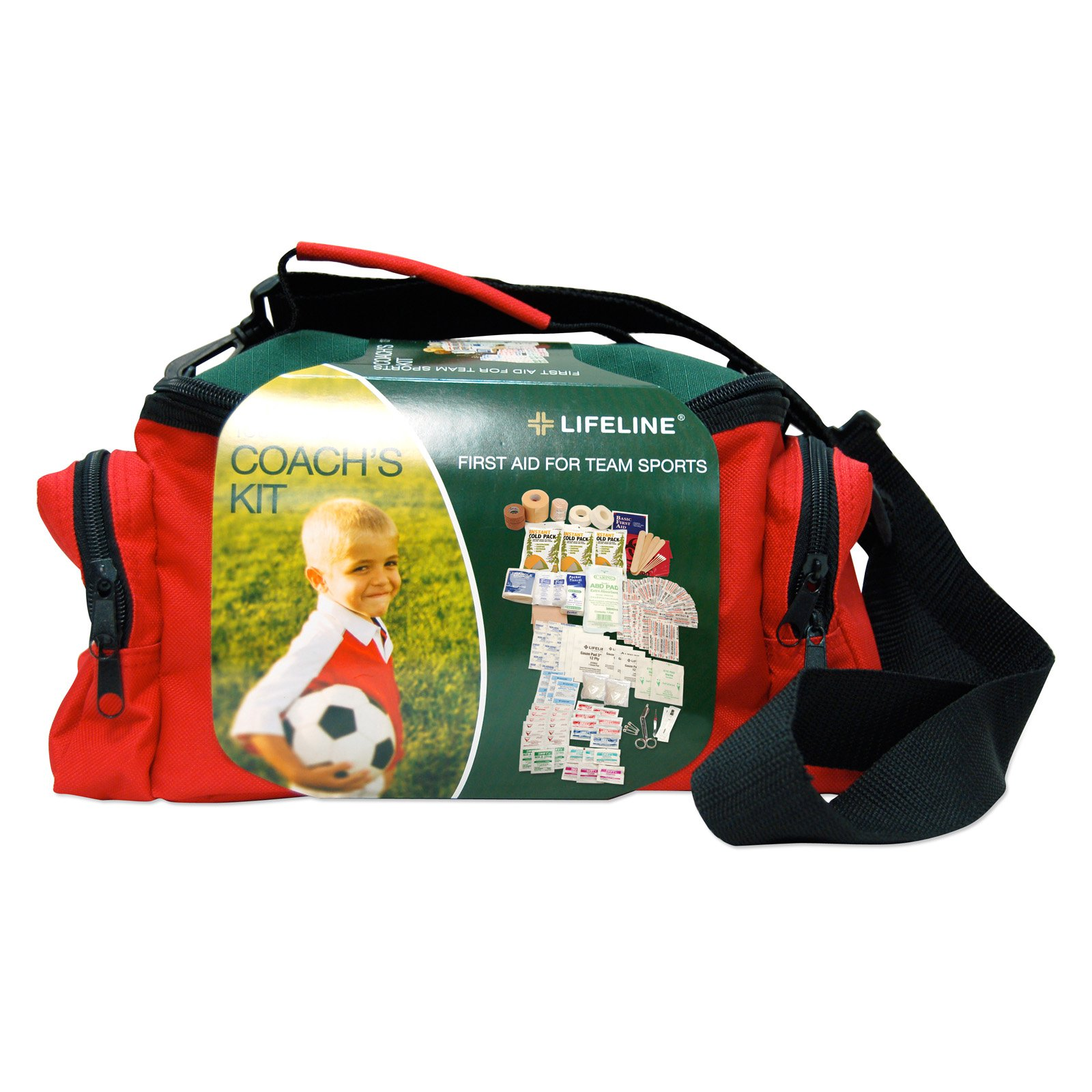 Lifeline Team Sports Coach First Aid Kit - 133 Pieces