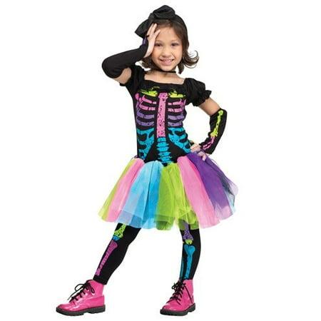 FUNKY PUNKY BONES TDLR LG 3T - 3t Costumes