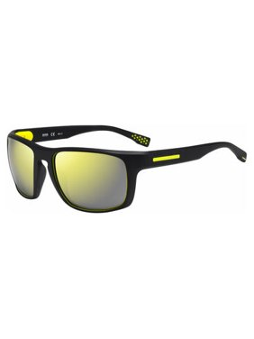 8a224fe5d5 Product Image Hugo Boss 0800 S Rubber Black Yellow 58mm amber polarized