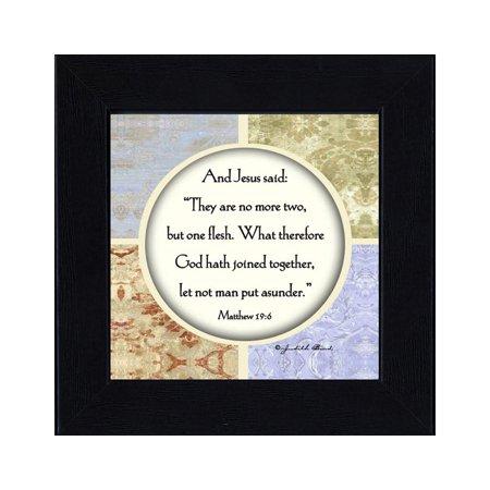 Marriage, A Marriage Prayer, Frame Wedding Gift , 6x6