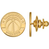 NBA Washington Wizards 14kt Gold-Plated Sterling Silver Lapel Pin