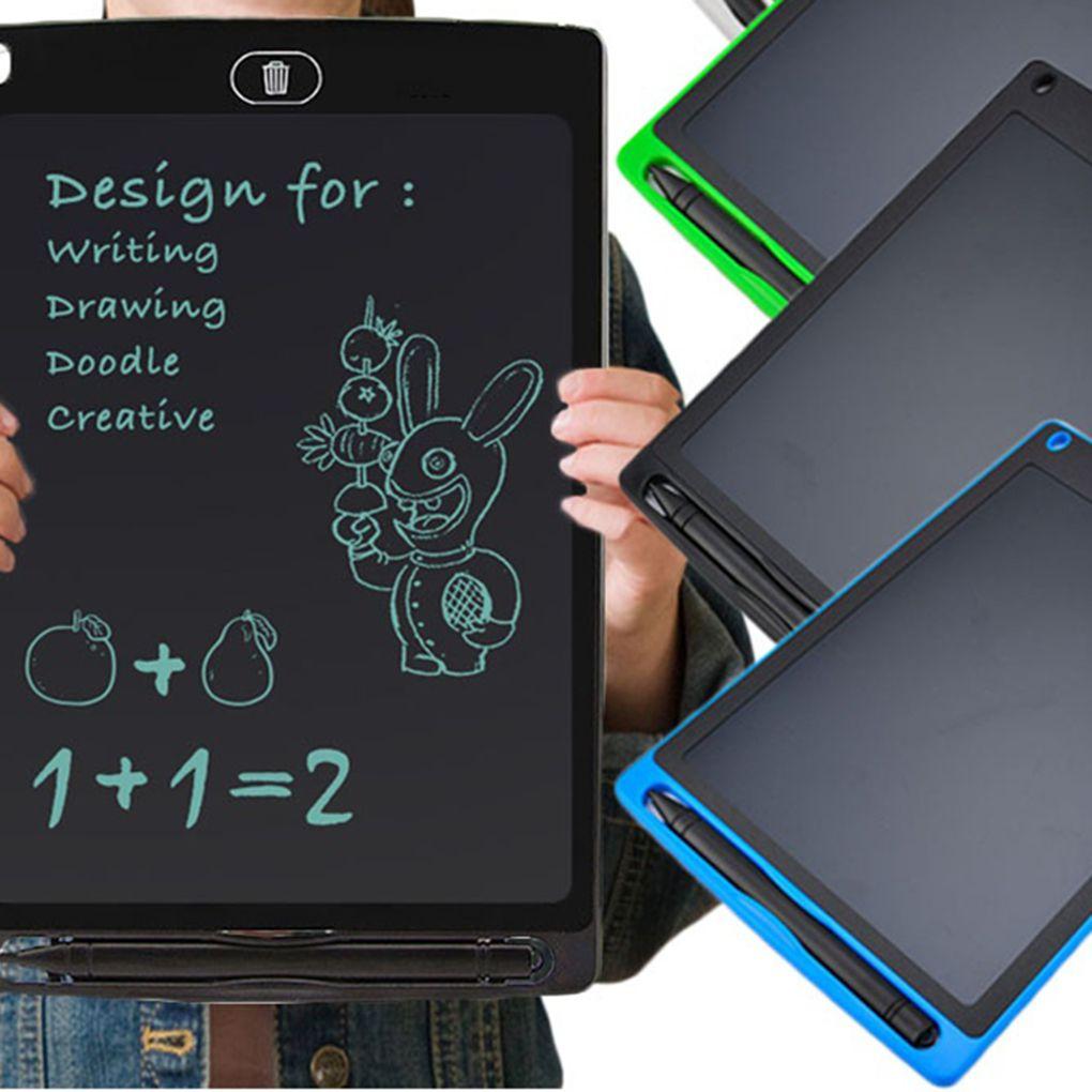 Writing Board 12 INCH Electric LCD Screen Writing Pad Digital Children Drawing Pad Handwriting Board Portable Home Electric Board