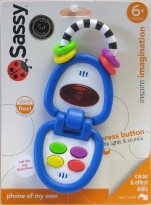 Sassy Phone Of My Own Developmental Toy (3-Pack) by Sassy