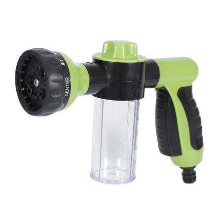 Jeobest Foam Sprayer Gun - Hose Foam Sprayer Car Wash - Garden Hose Soap Sprayer - Garden Water Hose Foam Sprayer Gun Foam Nozzle Soap Dispenser Gun for Car Washing Pet Shower