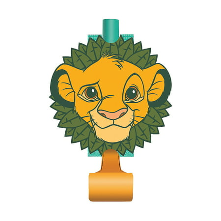 Lion Party Supplies (Lion King Blowouts for Birthday - Party Supplies - Licensed Tableware - Misc Licensed Tableware - Birthday - 8)