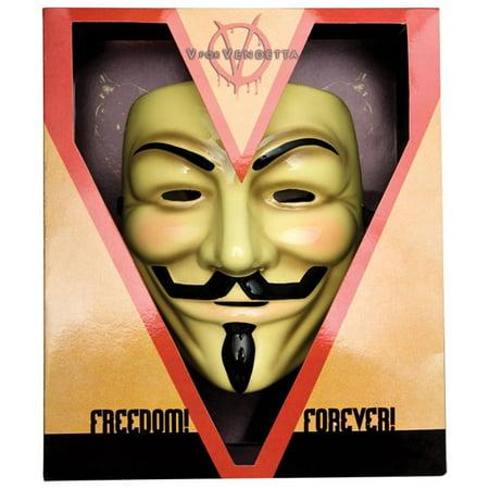 V for Vendetta Deluxe Mask Costume Mask