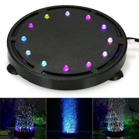Submersible LED Air Bubble Light Colorful Decoration for Aquarium Fish Tank - Bubble Decorations