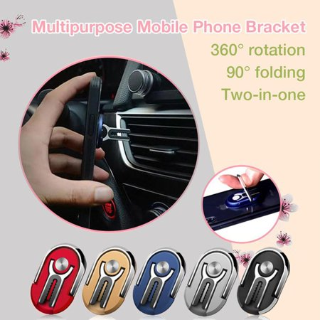 Car Navigation Air Outlet Mobile Phone Bracket 360 Rotating Car Phone Holder - image 2 of 7