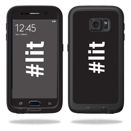 hot sale online d47ae 179be MightySkins Skin For LifeProof Galaxy S6, S7, S8, S8+ Plus   Protective,  Durable, and Unique Vinyl Decal wrap cover Easy To Apply, Remove, Change ...