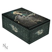 HOWLING MOON WOLF SONG FOREST TAROT BOOK BOX BY LISA PARKER