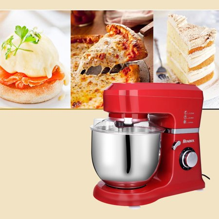 800W Power Stand Mixer, 6-Speed Classic Series Food Mixer with Bowl,Dough