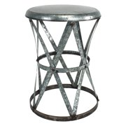 Aspire Home Accents Weston Metal Stool