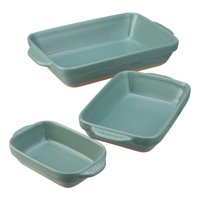 Better Homes & Gardens Parker Casserole Baking Dish, Set of 3, Multiple Colors