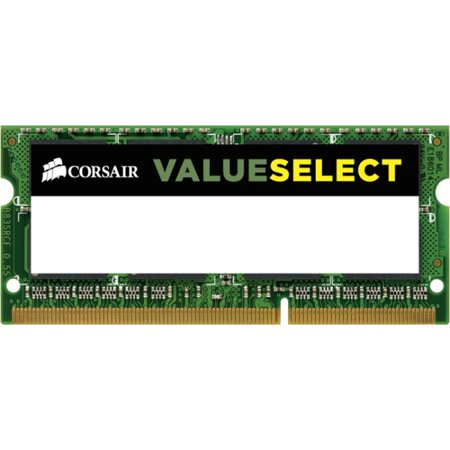 - Corsair CMSO8GX3M1A1600C11 8GB DDR3 SODIMM Notebook Memory