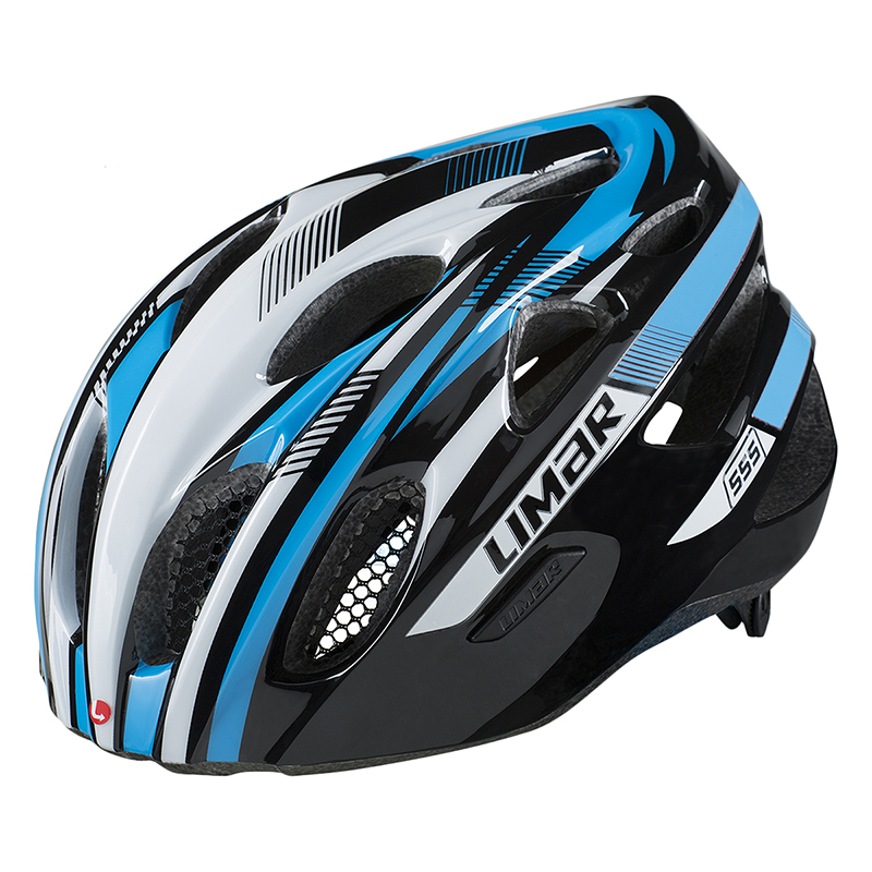 Limar 555 All Around Helmet Lim 555 All-around M52-57 Bk/wh/bu
