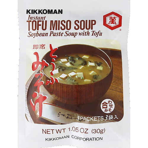 Kikkoman Instant Tofu Miso Soup Mix, 1.05 oz, (Pack of 12)