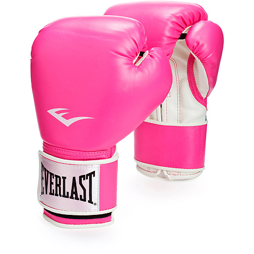 Everlast ProStyle Elite Boxing Gloves, 8oz, Pink