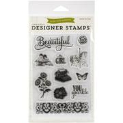 """Echo Park Stamp, 4"""" x 6"""""""