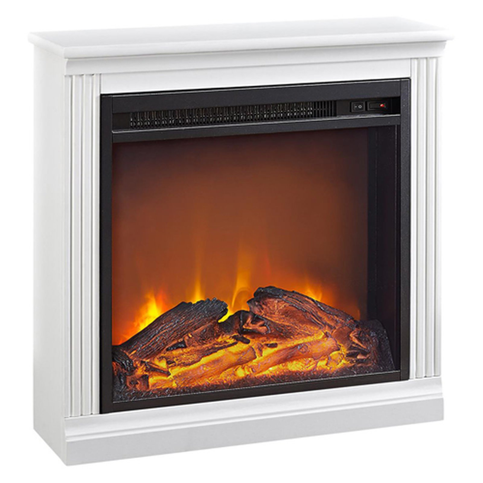 Ameriwood Home Bruxton Electric Fireplace, Multiple Colors