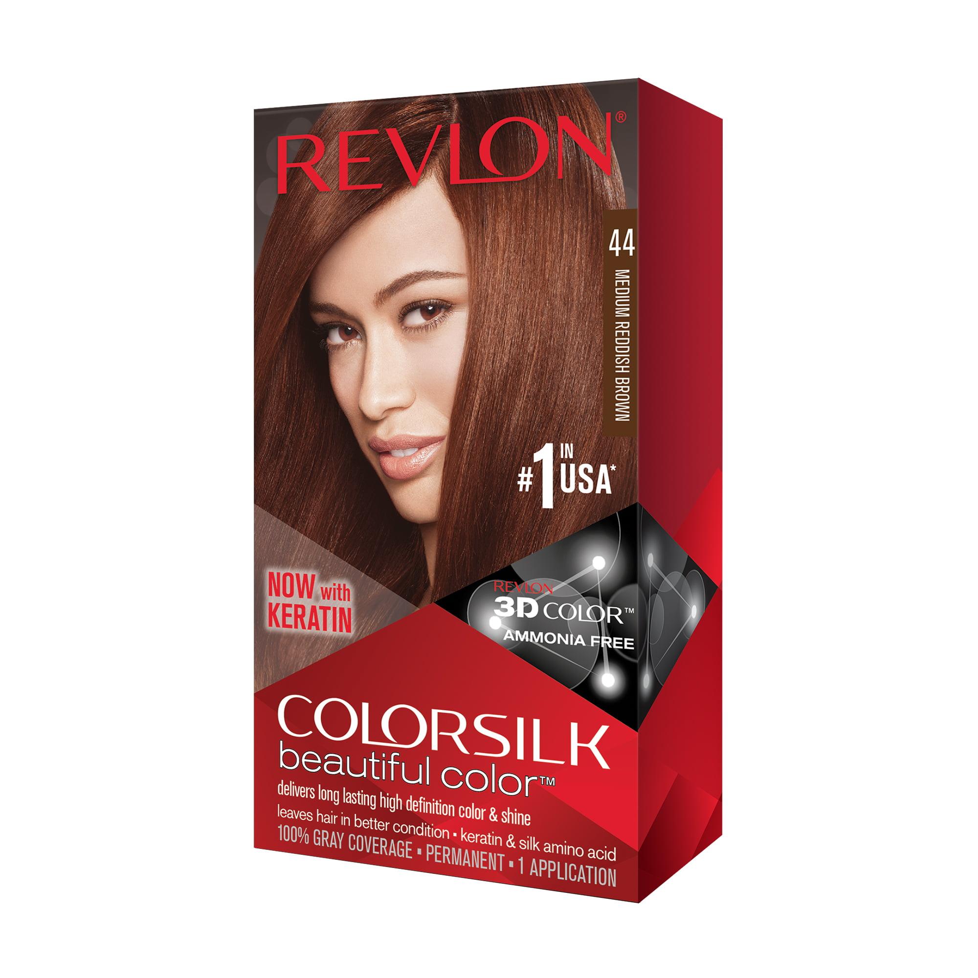 Revlon Colorsilk Beautiful Color Hair Color Medium Reddish Brown