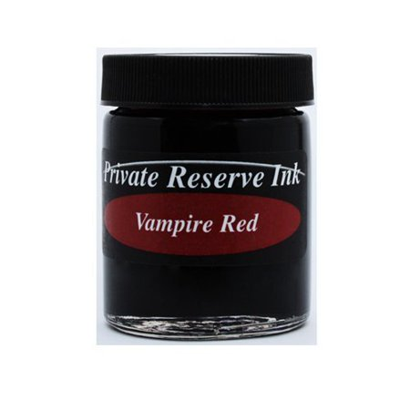 Private Reserve Ink 66ml Bottle Fountain Pen Ink - Vampire Red