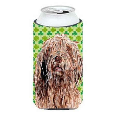 Otterhound Lucky Shamrock St. Patricks Day Tall Boy bottle sleeve Hugger - 22 To 24 Oz. - image 1 de 1