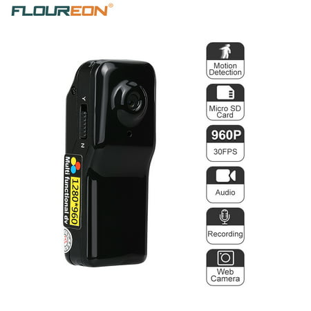 Mini camera 960P HD Nanny Camera with Motion Detection