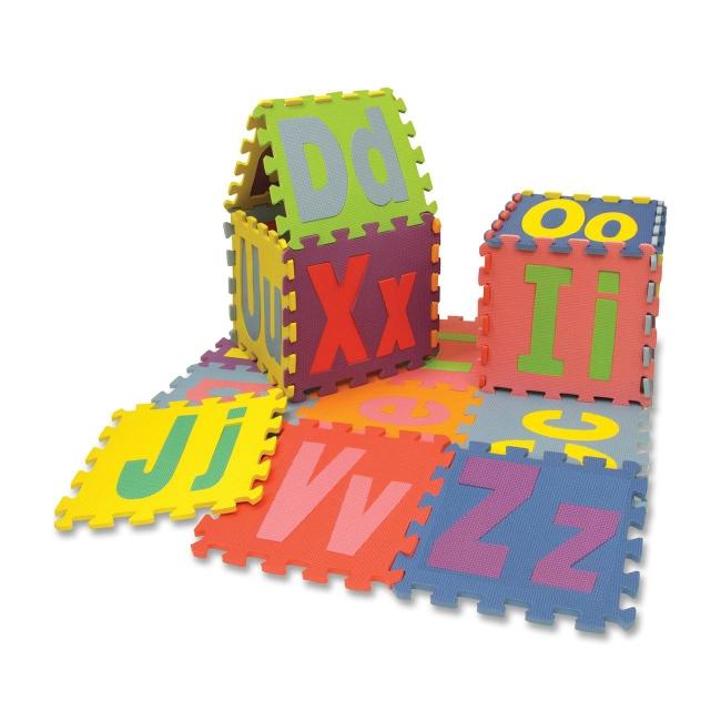 Chenille Kraft Wonderfoam Puzzle Mat - Theme/Subject: Alp...