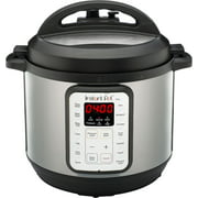 Instant Pot 112-0022-01 Viva 6 Quart 9-in-1 Multi-Use Pressure Cooker with Easy Seal Lid and Sous Vide Program - Silver
