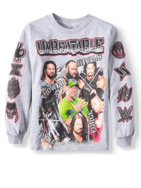 eff31e94 Product Image Long Sleeve WWE Graphic Tee (Little Boys)