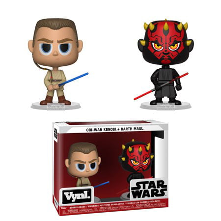 Funko VYNL: Star Wars - Darth Maul & Obi Wan (TPM) - Darth Maul Girl