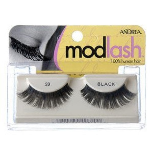 ANDREA Strip Lashes, Black, Style 28 []