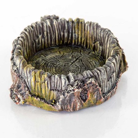 BioBubble Decorative Stump Bowl, Small, 5