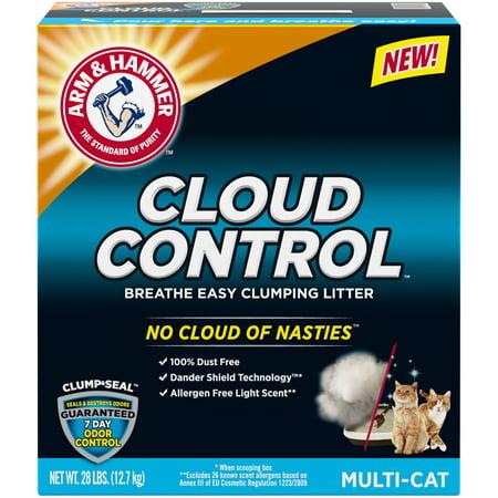 Arm & Hammer Cloud Control Clumping Cat Litter, (Best Cat Litter That Won T Stick To Paws)