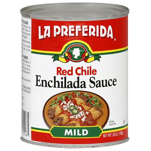 La Preferida Enchiladas Chile Rojo, 28 oz (Pack of 12)