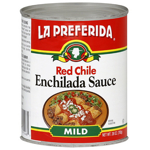 La Preferida Enchiladas Chile Rojo, 28 oz (Pack of 12)