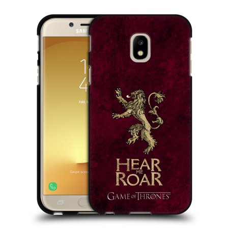 OFFICIAL HBO GAME OF THRONES DARK DISTRESSED SIGILS BLACK SOFT GEL CASE FOR SAMSUNG PHONES 2